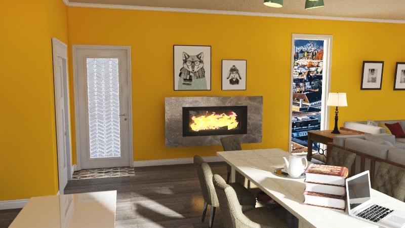 HeidemanopenconceptProject5 Interior Design Render