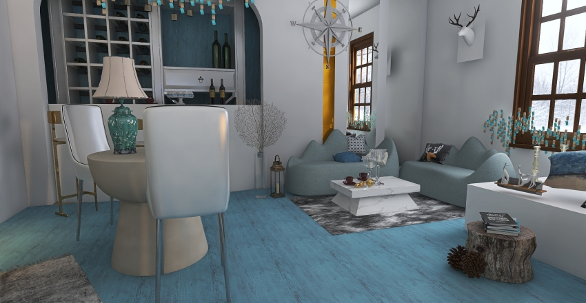 cafe 4  sizon Interior Design Render