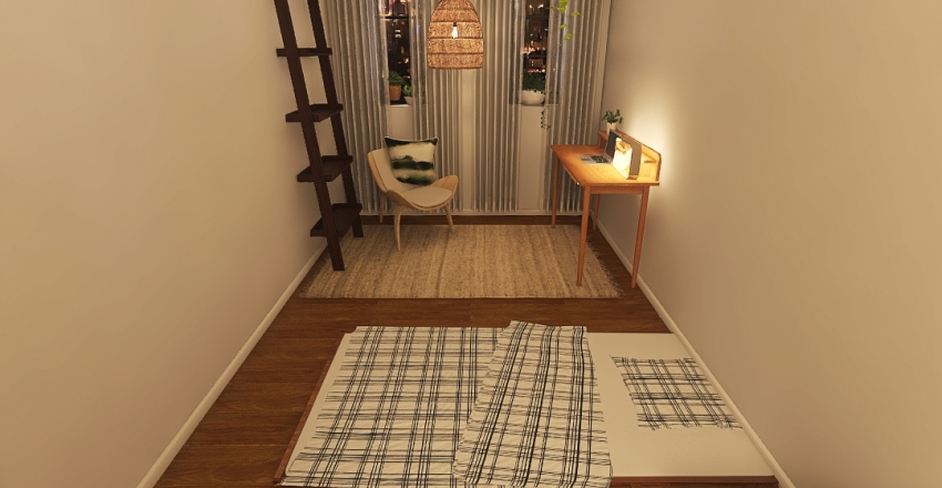 Bedroom: Nook V.2 Interior Design Render