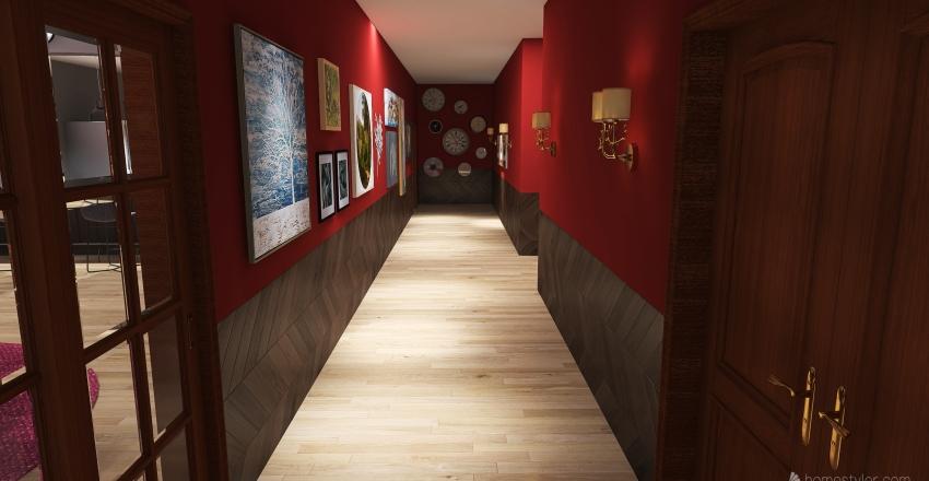 Eerie House Interior Design Render
