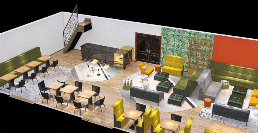 Ritz Reno Interior Design Render