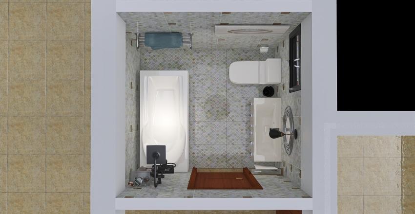 ahmedmegahd flat Interior Design Render