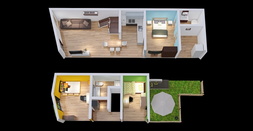 Casa LSG Interior Design Render