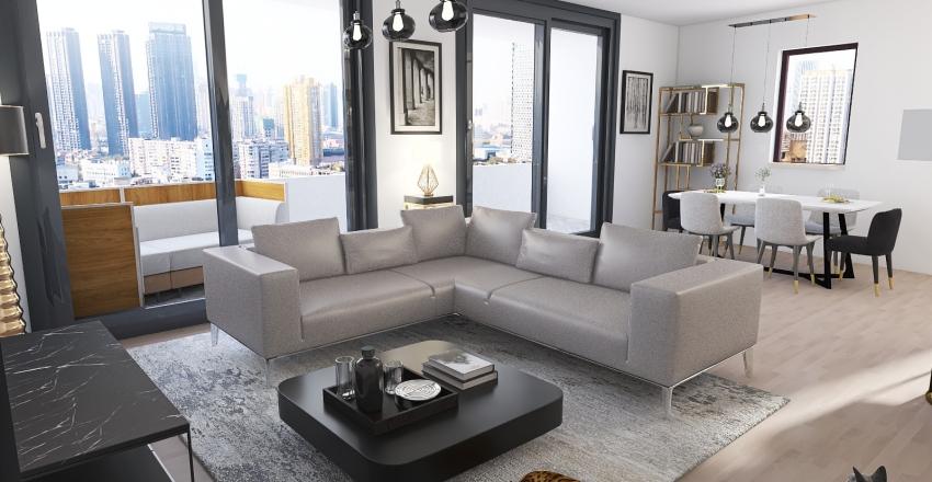 Appartement Sauvy  v14 Interior Design Render