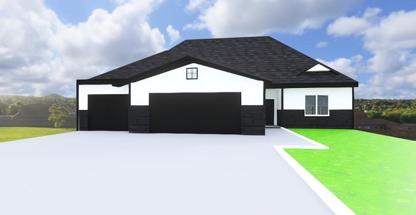 Residential Home Interior Design Render