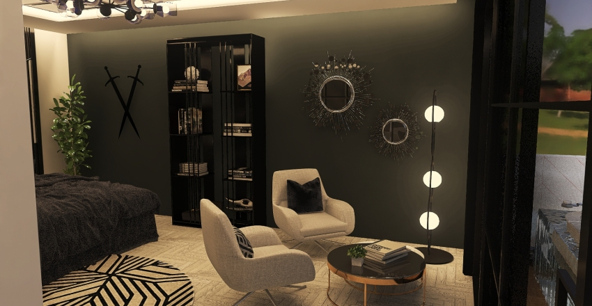 LUXURY ROOMSUITE Interior Design Render