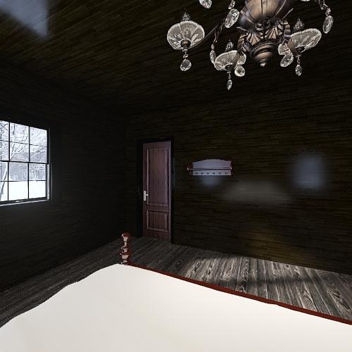 Old Place #1 (bedroom) Interior Design Render