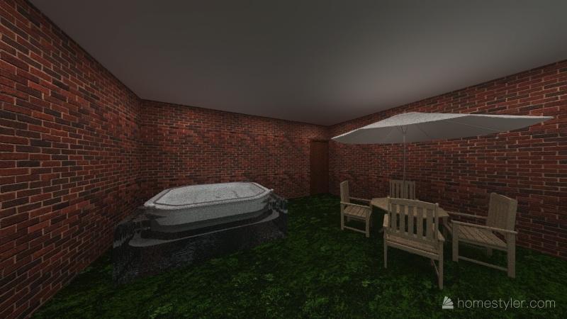 CASA DE ABRIL Interior Design Render