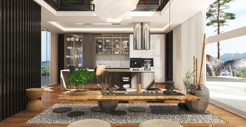 "#HSDA2020Residential""Timeless"" Interior Design Render"