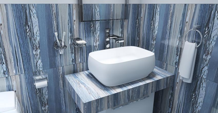 Pool house Interior Design Render