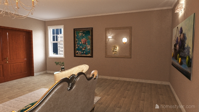 FCS APARTMENT Interior Design Render