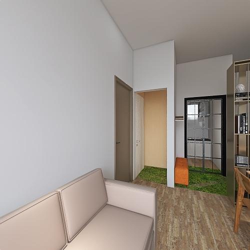 Revise toilet of B3_5F Interior Design Render