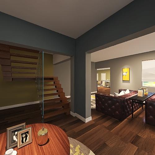 Herlinda's Ranch Interior Design Render