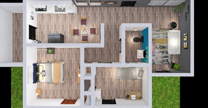 67-Electrical-plan-Aaldana-Srodriguez-RFernandez Interior Design Render