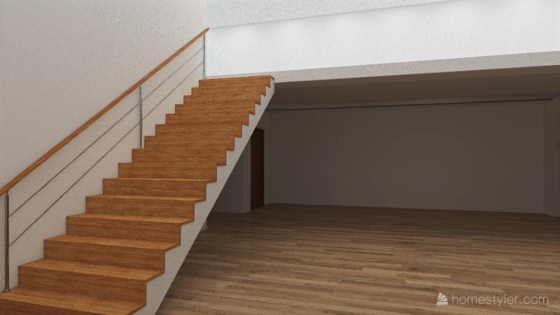 Lakefront Interior Design Render