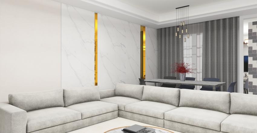 new living Interior Design Render