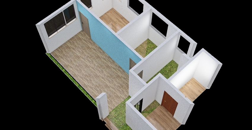 B3_5F Interior Design Render