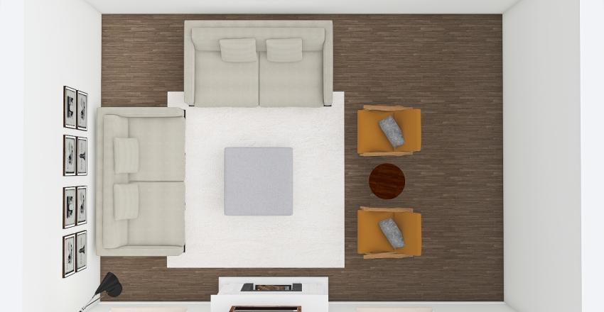 Lindsey's Living Room Interior Design Render