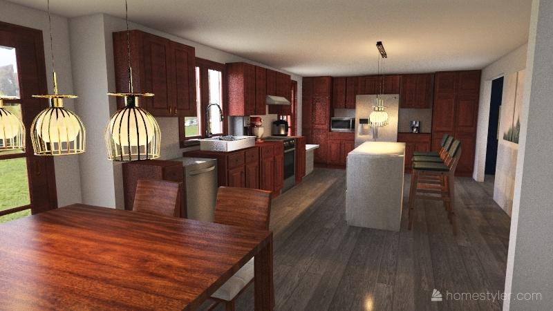 New Kitchen Interior Design Render