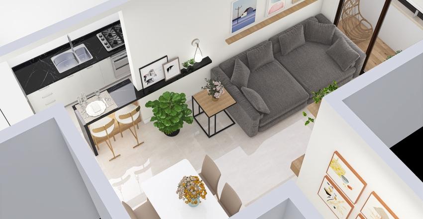 Marcela de Faria Gomes 049.723.296-02 Interior Design Render