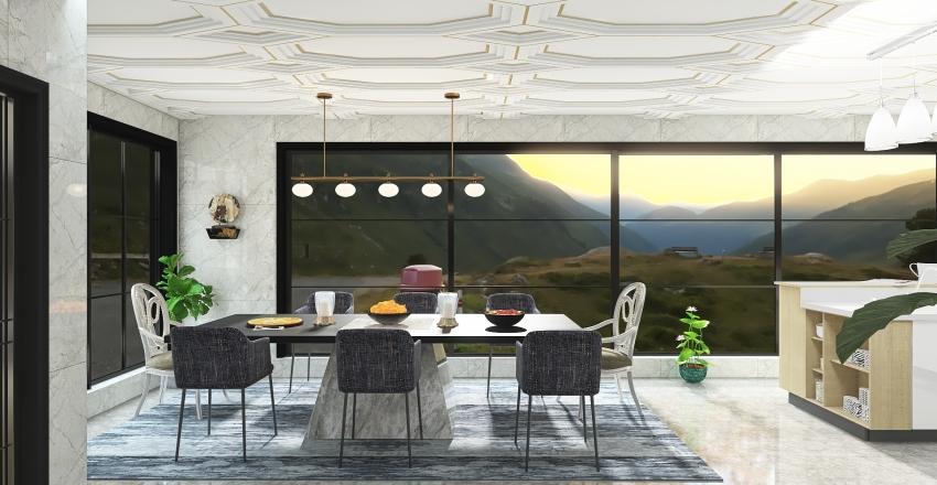 #HSDA2020Residential HillTop House Interior Design Render
