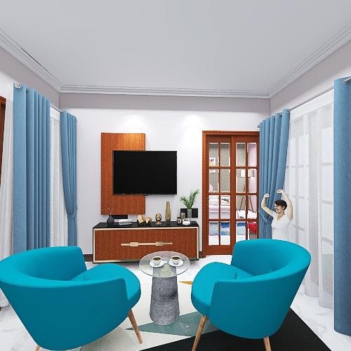 joint rooms Interior Design Render