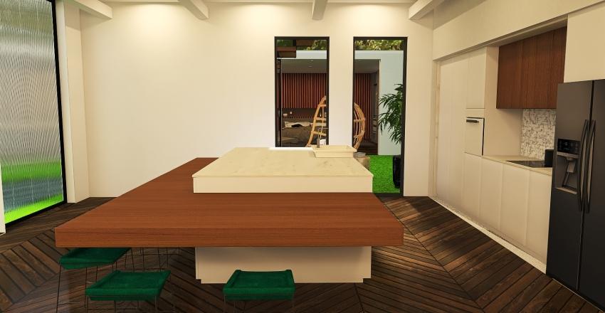 025| modern residence Interior Design Render
