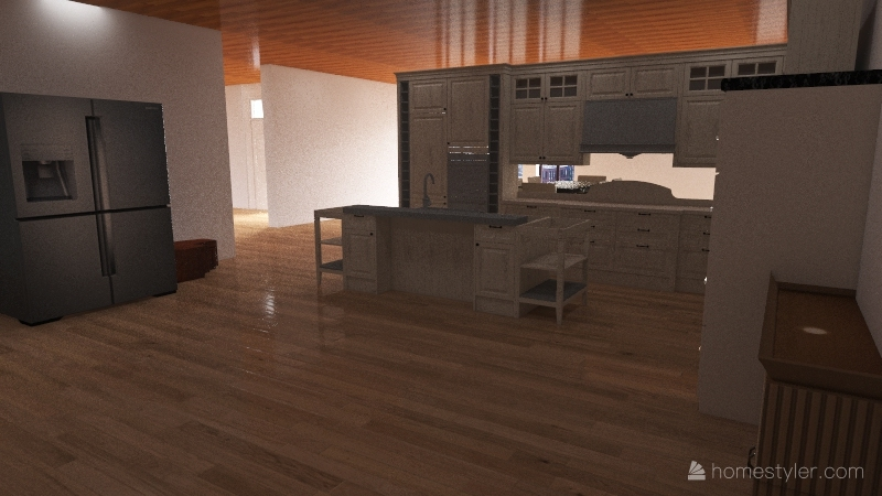 tarea tecnología farid bazan Interior Design Render