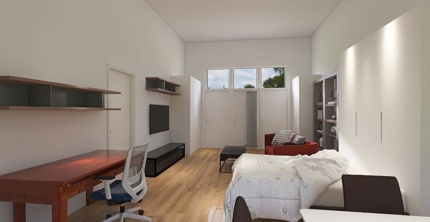 monolocale 9 Interior Design Render