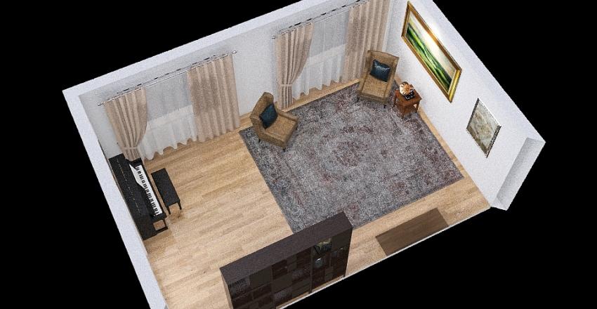 housing project Interior Design Render