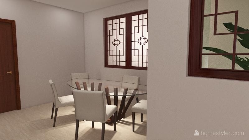 CASA ECOLÓGICA Interior Design Render