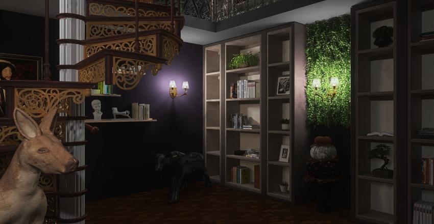 Haunted House Interior Design Render