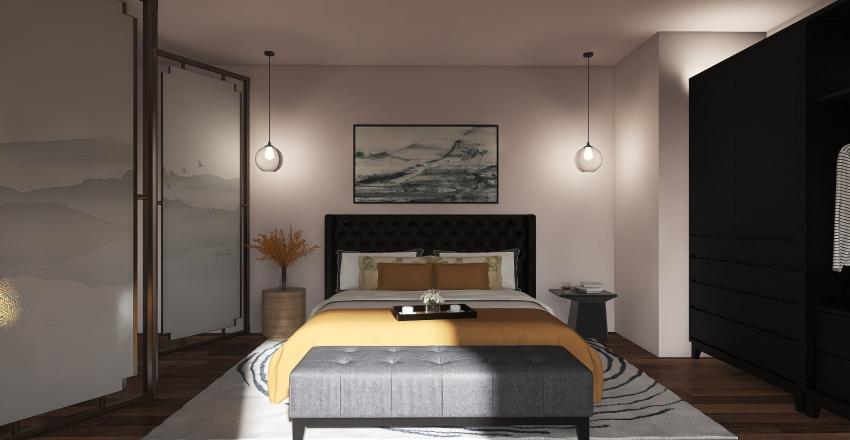 Cozy n Chic Interior Design Render