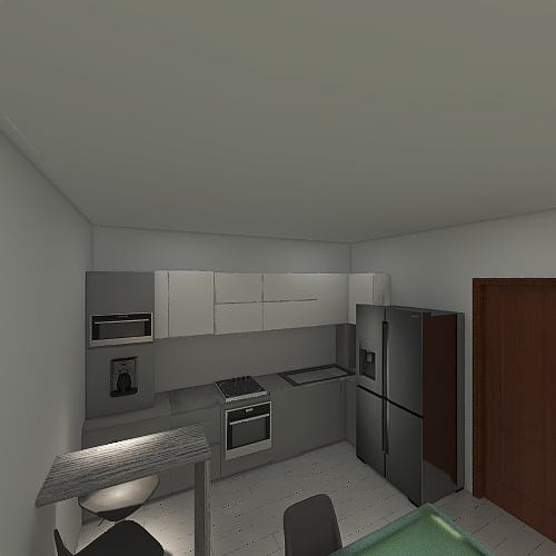 Copy of with coffee area  bar 4 Interior Design Render