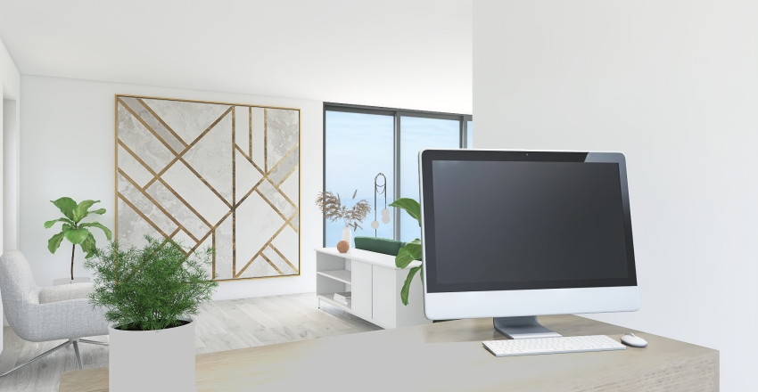 By The Beach Interior Design Render