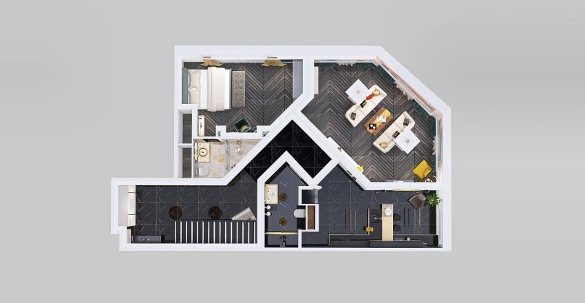Copy of проект 2 Interior Design Render