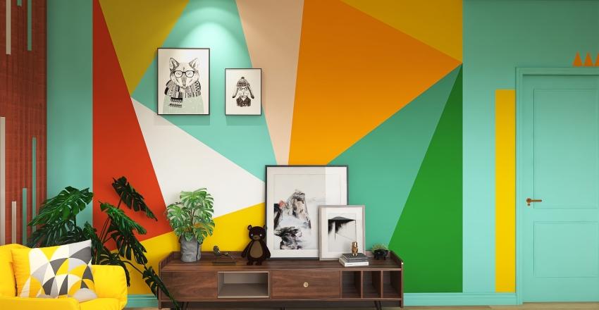 #HSDA2020Residential - Modern Contemporary - Cartoon Inspired Studio Interior Design Render