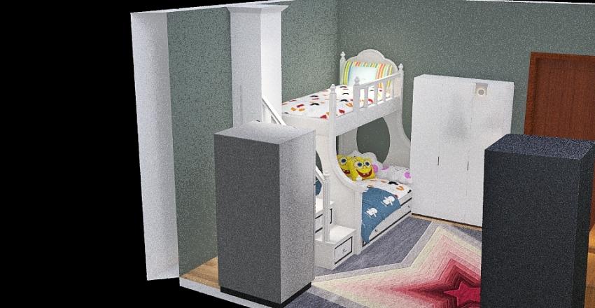 الاطفال Interior Design Render