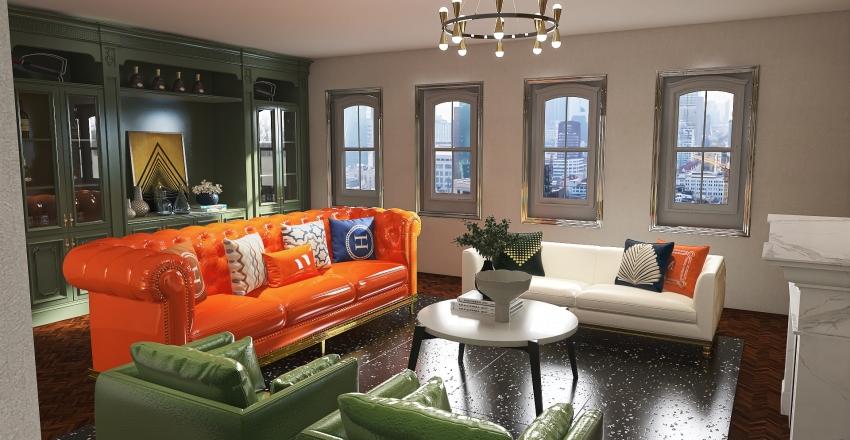 2906 Apartment Interior Design Render