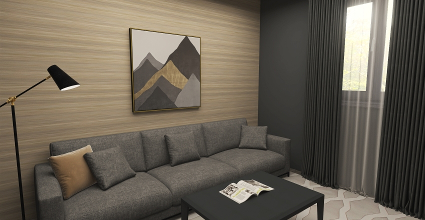 Appartment Interior Design Render