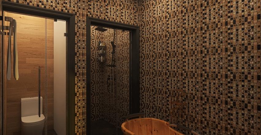 Баня Щелковское ш. Interior Design Render
