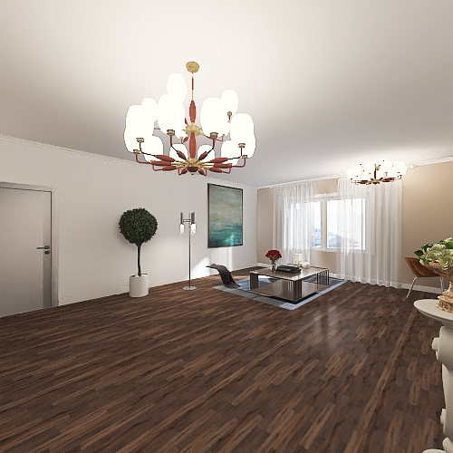 v2_до рум тура Interior Design Render