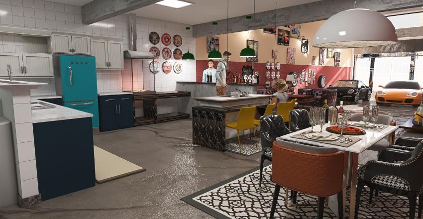 Marcio Rest. Interior Design Render