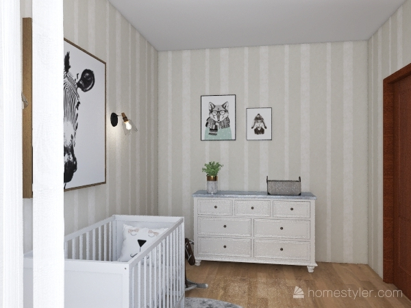 BABYROOM Interior Design Render