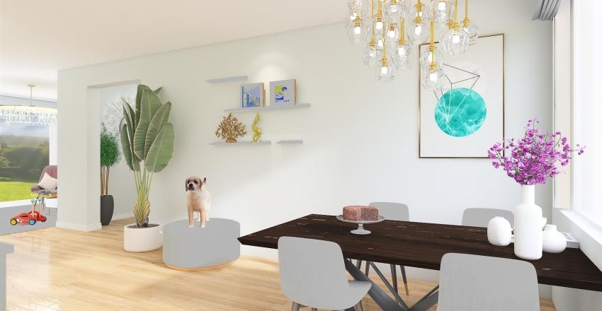 hous 12 Interior Design Render