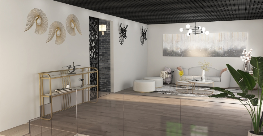 CABAÑA Interior Design Render