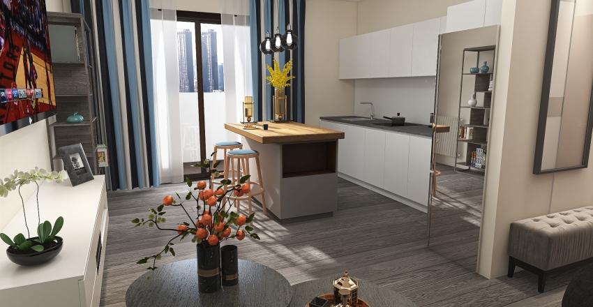 Gdańsk Interior Design Render