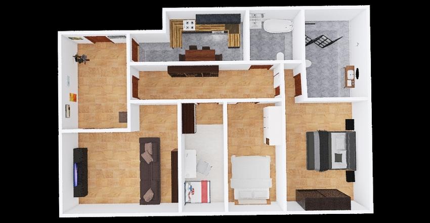 mi piso Interior Design Render