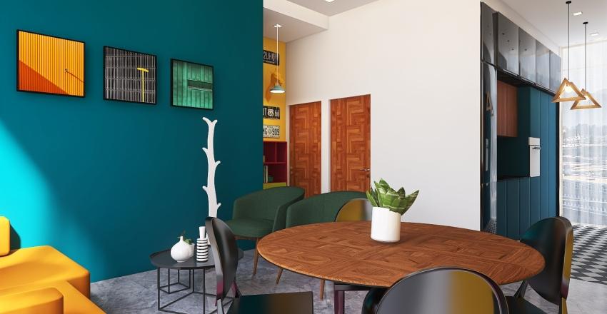 POP Depa II Interior Design Render