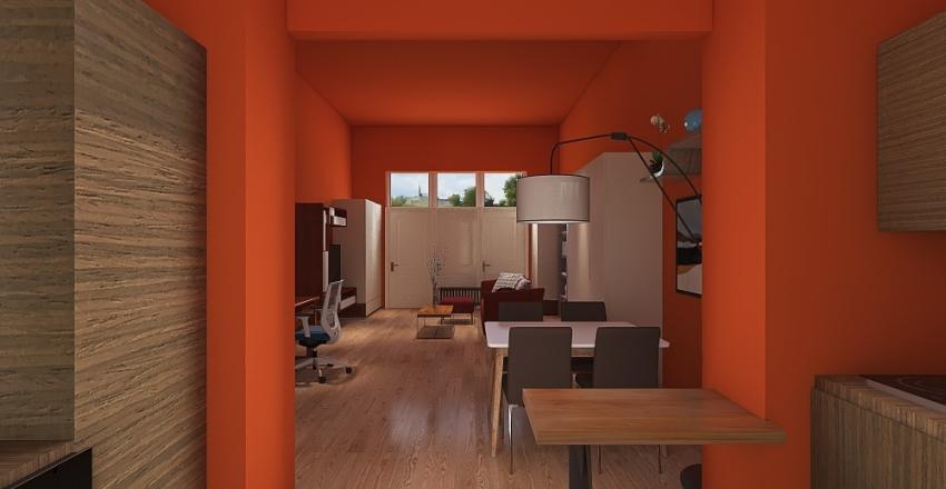 Copy of cucina monolocale 7 1 Interior Design Render